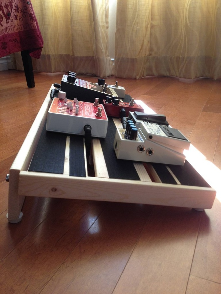 1000 images about diy pedal board on pinterest vintage suitcases homemade and ikea hacks. Black Bedroom Furniture Sets. Home Design Ideas