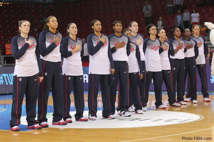 USA Basketball Women's National Team defeats Angola 119 to 44