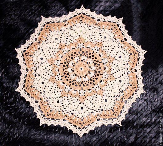 Текстиль, ковры ручной работы. Вязаный ковер