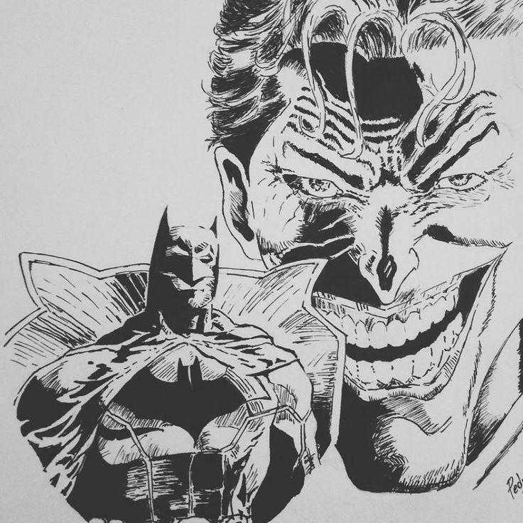Coringa e do Batman por Pedro Melo Política Internacional 2016 - Jovem Nerd