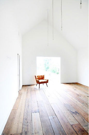 Timber floorboards, these floor boards resemble rhythm because the line up of the floor boards all fit perfectly and not very much free area.