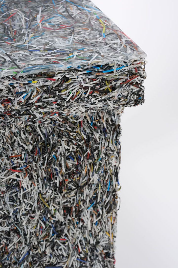 recycling shredded paper Information about shredded paper recycling services.