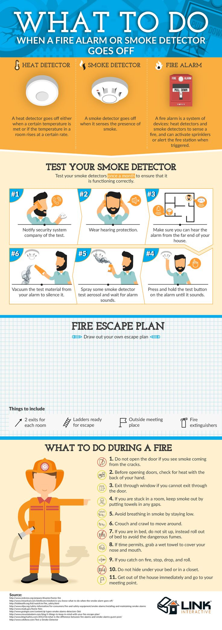 What To Do When Your Fire Alarm Goes Off [Infographic