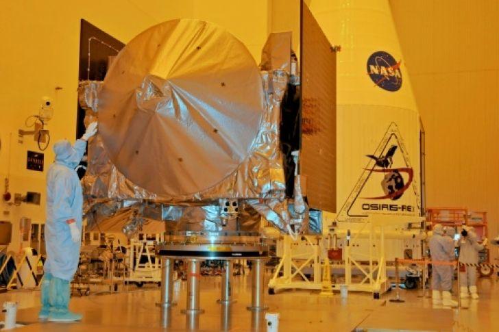 Sonda de la NASA usa la gravedad terrestre para impulsarse hacia un asteroide