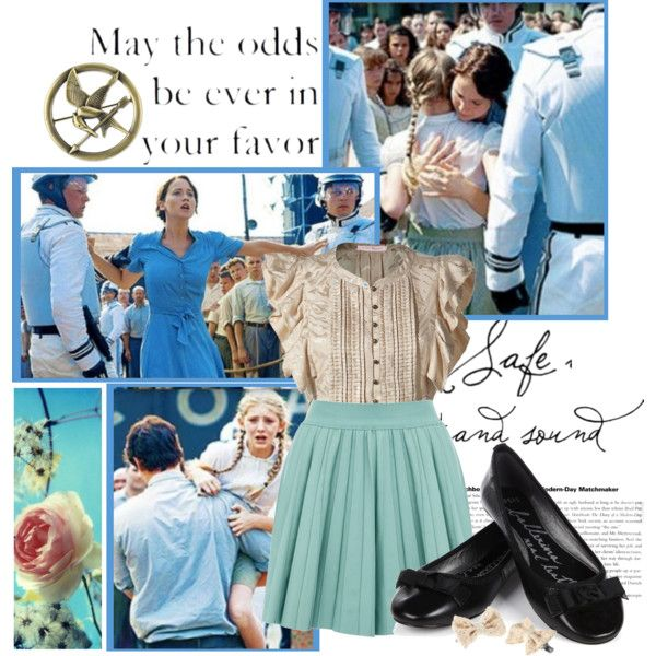 reaping day prim katniss hunger games hunger games fashion capitol couture - Primrose Everdeen Halloween Costume