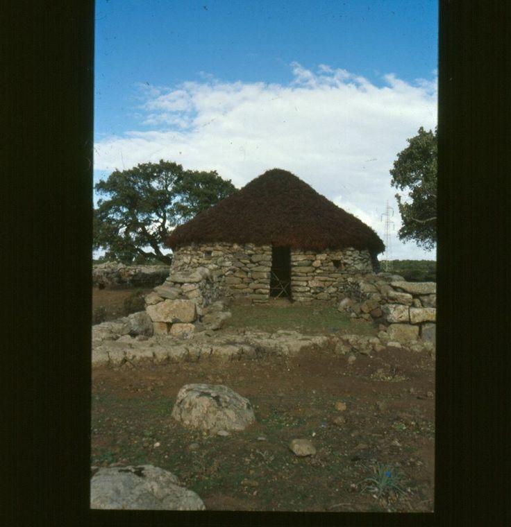 House for shepperds at Brunku Madugui, Gesturi Sardinien