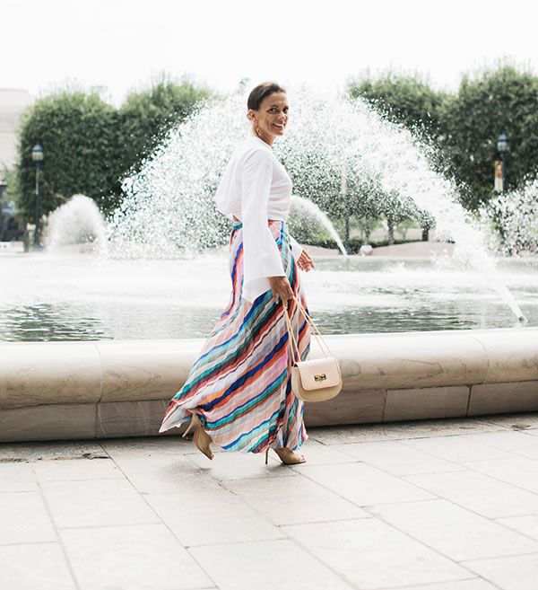Effortless edgy chic - A style interview with Sylvia   40plusstyle.com