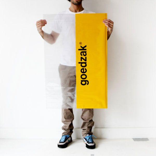 « Goedzak» , le sac qui favorise le réemploi entre voisins.