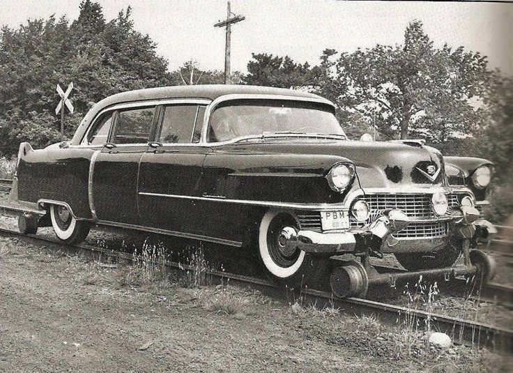 Executive Track Inspection Car. First Class In A Cadillac.