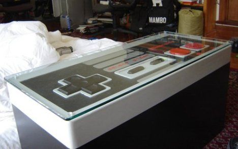 Sweet Coffee Table for the Man Cave