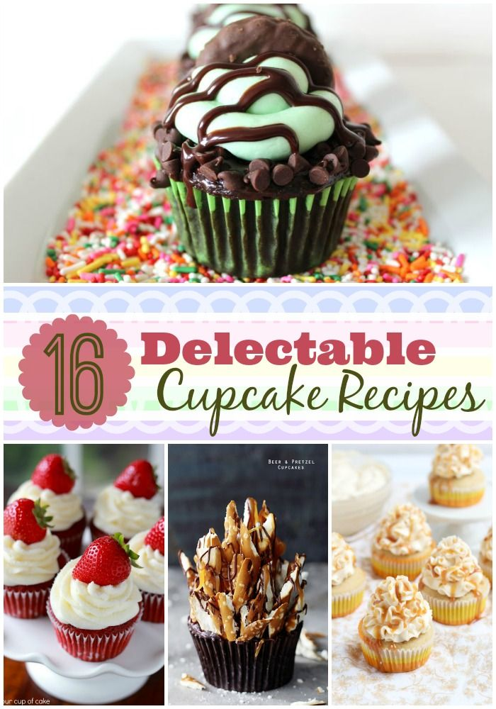 16 of the most delectable #cupcake #recipes from some of the most talented bloggers around | www.dreamingofleaving.com | Dreaming of Leaving