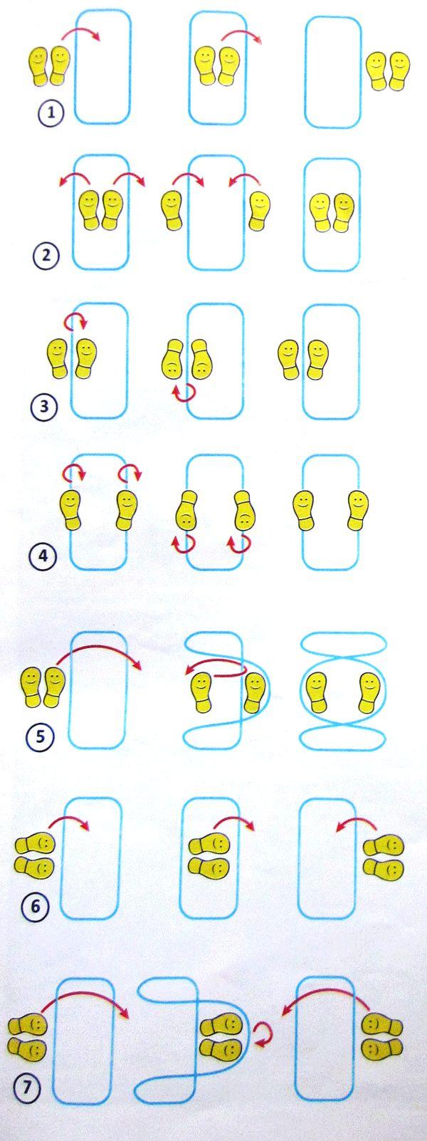 способы методы как прыгать в резиночках