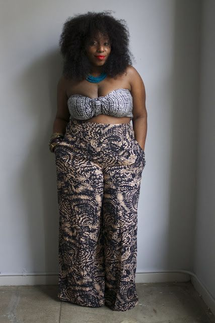 JOIN THE MOVEMENT: BREAKING ALL THE RULES,  PLUS SIZE WOMEN CAN WEAR CROP TOPS