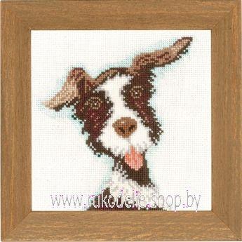 Набор для вышивки крестом Lanarte Мини-собачки PN-0021215