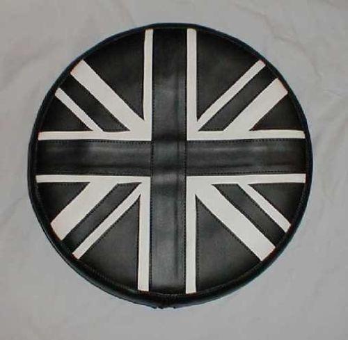 Black-and-White-Union-Jack-Vespa-Lambretta-Scooter-Wheel-Cover