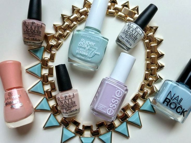 stylemaquillage nails spring pastels stylemaquillage pinterest fr hling fingern gel und. Black Bedroom Furniture Sets. Home Design Ideas