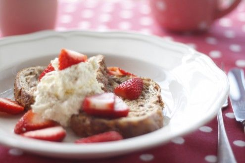 Great website dedicated to gestational diabetes recipes- French toast