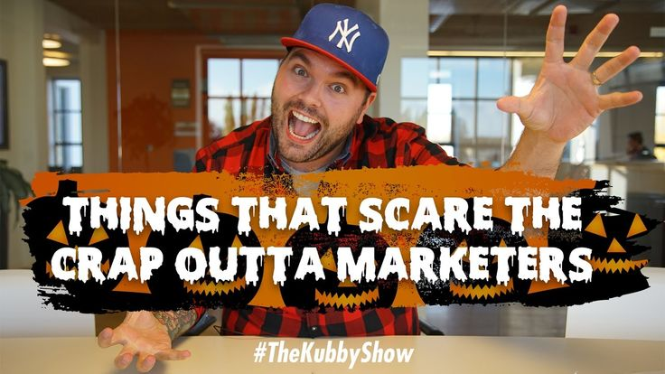 Yesterday was halloween so I was in a scary mood. So today we talked about the scariest stuff marketers can and should do.  Subscribe to my channel to be notified when new videos drop https://www.youtube.com/subscription_center?add_user=chriskubby  Chris 'Kubby' Kubbernus builds businesses with heart. Follow his journey.   Find Kubby here:  Website: http://ift.tt/1NBpMzB Twitter: http://www.twitter.com/chriskubby Facebook: http://ift.tt/1PF8x8b Instagram: http://ift.tt/1NRBGwD Periscope…