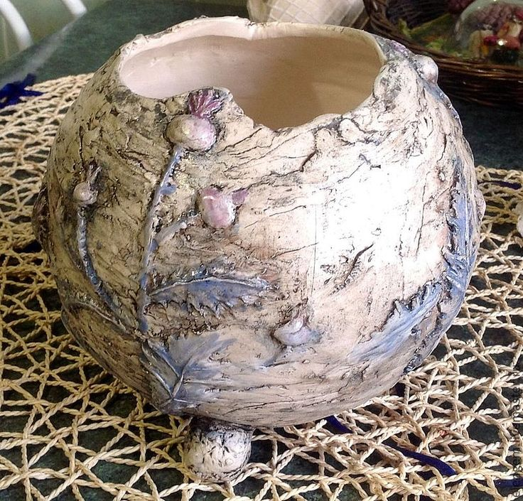 """Купить Ваза керамическая """" Колючка"""" - керамика ручной работы, ваза, Подорок, для интерьра, необычно"""