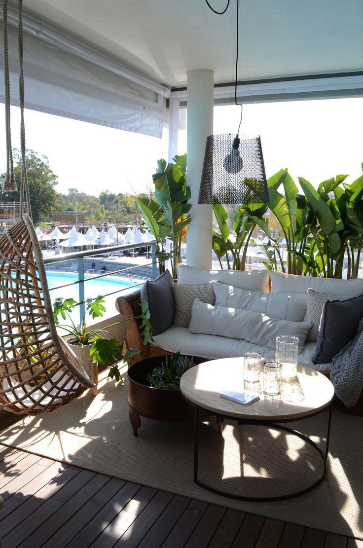 Relax en la terraza.