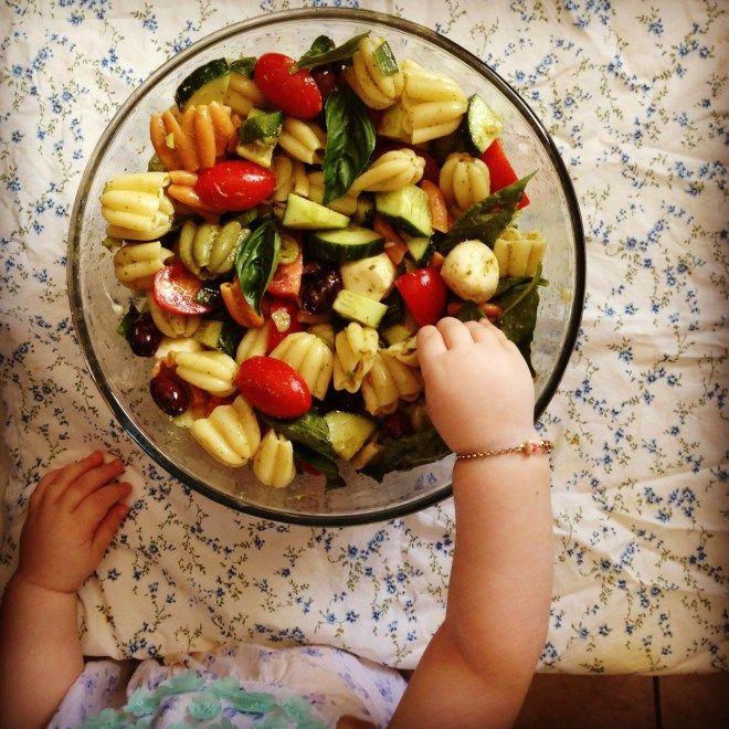 festive pasta salad | Pasta salad, Salad, Pasta