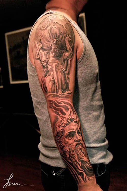 25 best ideas about ancient greek tattoo on pinterest for Greek sculpture tattoo