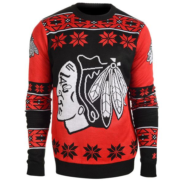 Perfect for any NHL fan, this is an Officially Licensed NHL Ugly Sweater! Show your pride and represent your team this holiday season. Sweaters are made from high quality 12 Gauge 100% Acrylic.