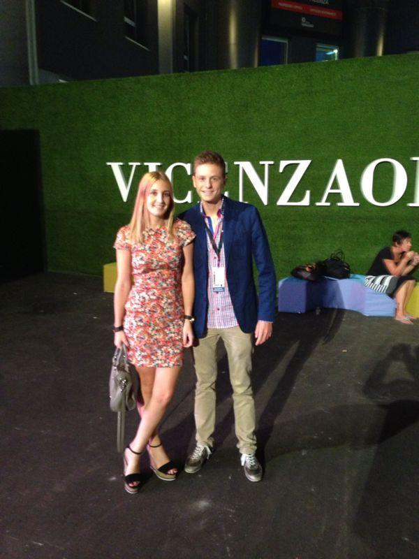 Segundo día en Vicenza por Pedro Rodriguez