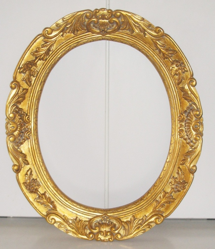 1000 images about molduras antigas on pinterest oval for Baroque oval mirror