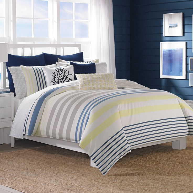 1000 Images About Nautica Bedding On Pinterest Aqua Comforter Quilt And Cabanas