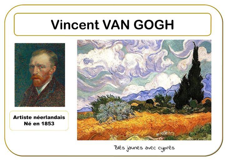 Vincent Van Gogh - Portrait d'artiste