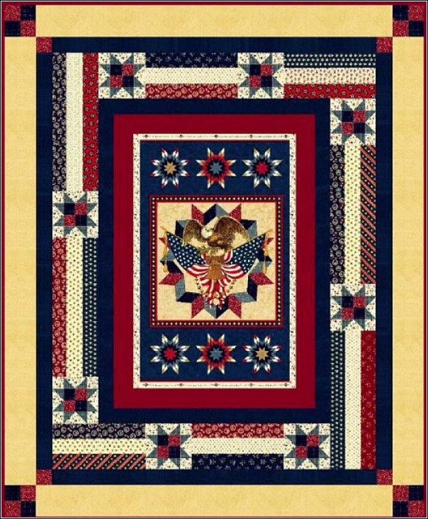 190 best Quilts of Valor/Patriotic images on Pinterest | Patriotic ... : fourth of july quilt pattern - Adamdwight.com