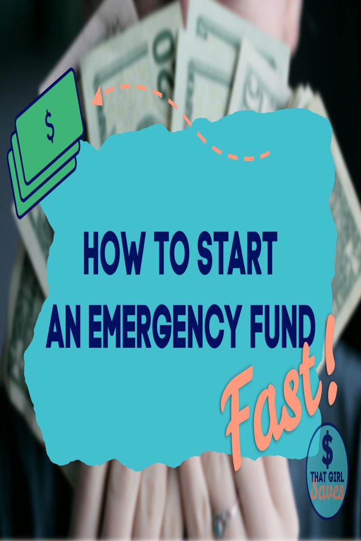 Learn ways to start your emergency fund fast so yo can pay
