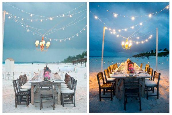 Beach wedding inspiration - inspiración boda en la playa