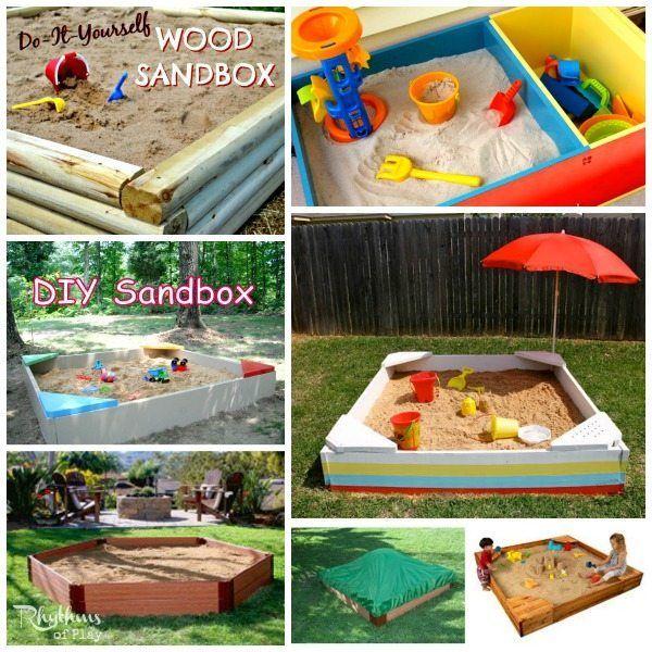 Best Sandbox Ideas For Kids With Images Backyard Sandbox Diy