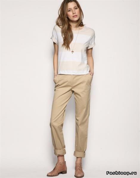 Женские брюки чинос