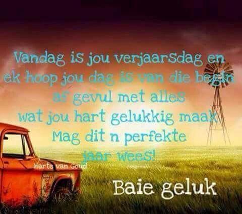 Birthday Qoutes Messages Wishes Happy Afrikaans Quotes Birthdays Verjaardag