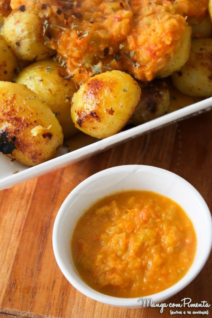 Batatas Bravas {Receita Espanhola}, para apimentar o carnaval. Clique na imagem para ir ao Manga com Pimenta e conferir a receita.