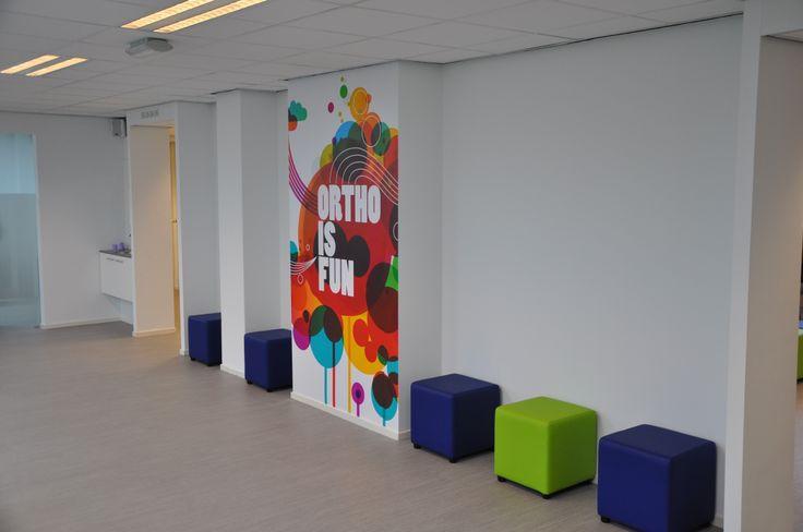 Orthocenter practice in Groningen Queridolaan 5 9721 SZ Groningen Netherlands/Holland dentist * tandarts * orthodontie * orthodontics * beugel * waiting room www.orthocenter.n...
