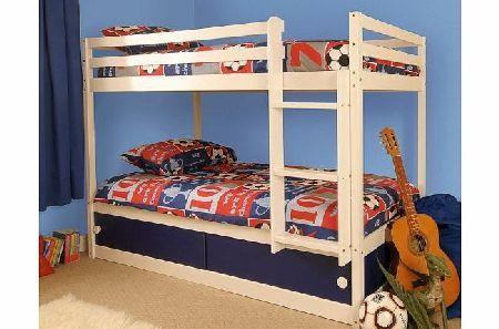 Comfy Living Boys Slide Storage White Wooden Bunk Bed with Blue Sliding Doors No description (Barcode EAN = 0700604593068). http://www.comparestoreprices.co.uk/bunk-beds/comfy-living-boys-slide-storage-white-wooden-bunk-bed-with-blue-sliding-doors.asp