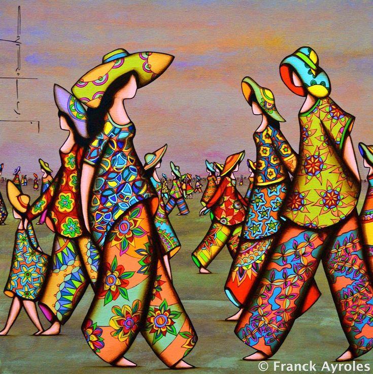 Franck Ayroles, 1975 | Abstract /Mixed media painter | Tutt'Art@ | Pittura * Scultura * Poesia * Musica |