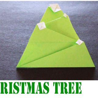 How to make an Origami Decorated Christmas tree!: Decor Christmas Trees, Decorated Christmas Trees, Origami Decor