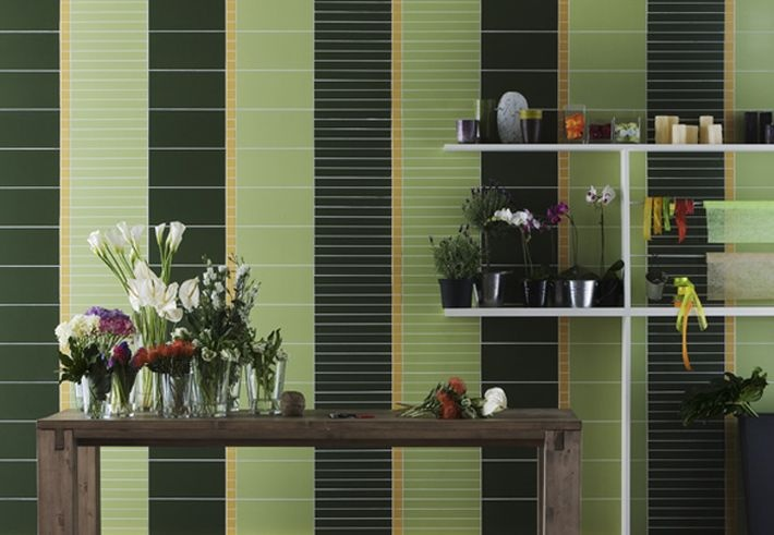 Green! by Vogue ceramics.