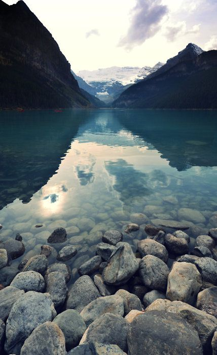 Lake Louise in Banff National Park: Alberta, Canada