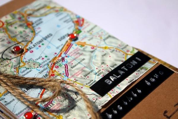 travel mini by reka.bujdoso @ Two Peas: Galleries Originals, Album Lakes, Travel Journals, Minis Album, Travel Scrapbook, Scrapbook Galleries, Scrapbook Journals, Travel Album, Travel Minis