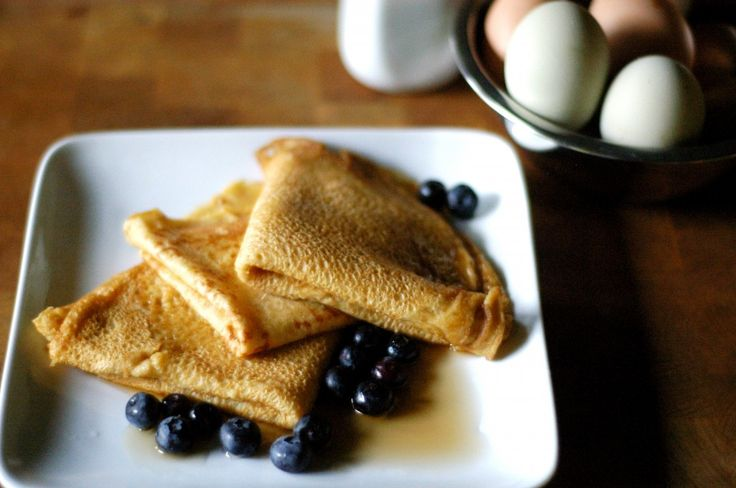 Whole Wheat Buttermilk Crepes