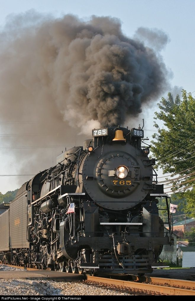 RailPictures.Net Photo: NKP 765 New York, Chicago & St. Louis Railway Steam 2-8-4 at Portsmouth, Ohio by TheFireman