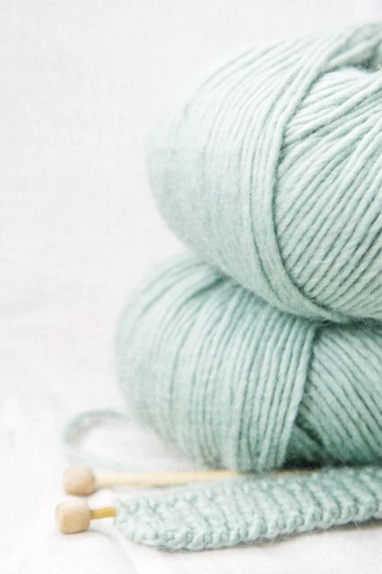 Robin's Egg Blue Yarn