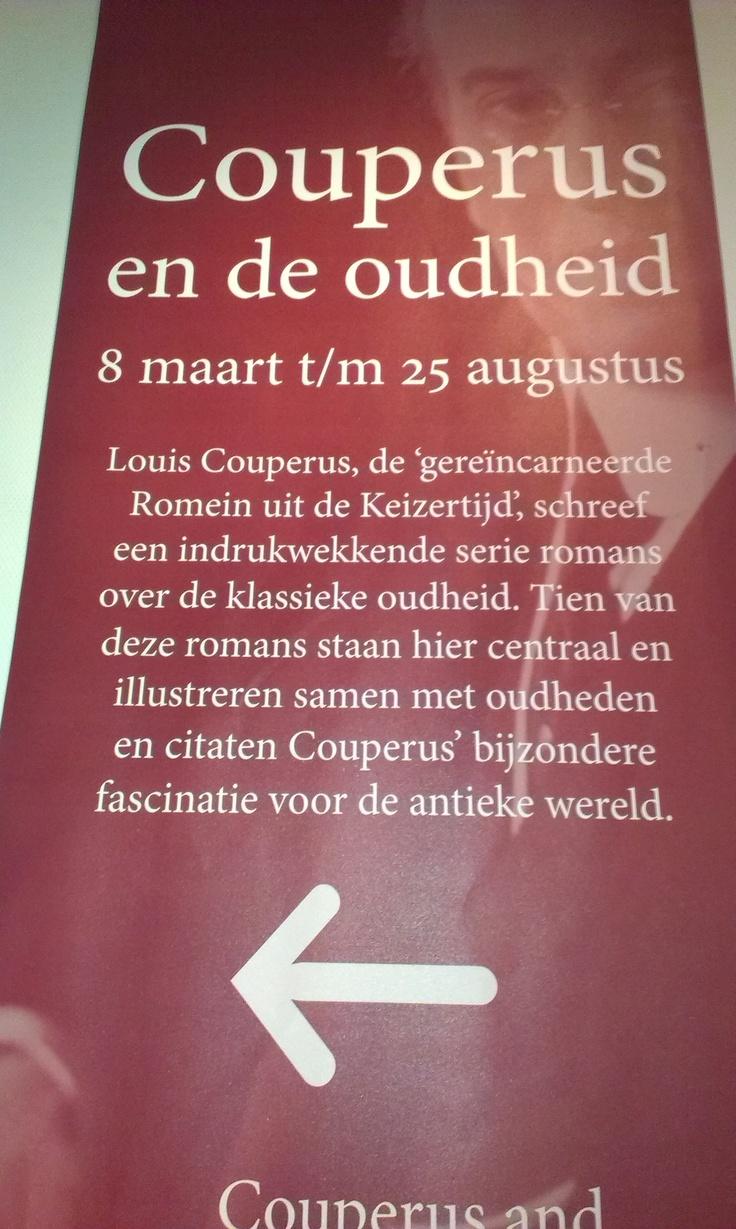 Couperus en de Oudheid - RMO Leiden