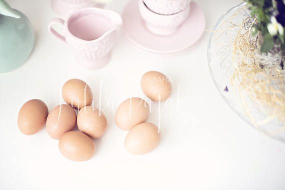 Easter  Styled Stock Photography flatlay mockup